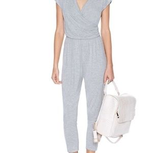 Nasty Gal Gray Jumpsuit Size Large